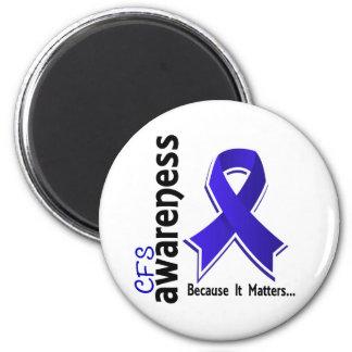 CFS Awareness 5 Chronic Fatigue Syndrome Refrigerator Magnet