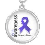 CFS Awareness 5 Chronic Fatigue Syndrome Pendants