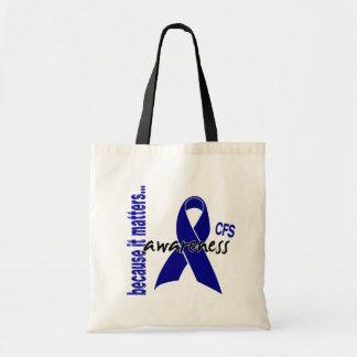 CFS Chronic Fatigue Syndrome Awareness Bags