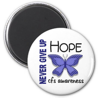 CFS Chronic Fatigue Syndrome Butterfly Fridge Magnet