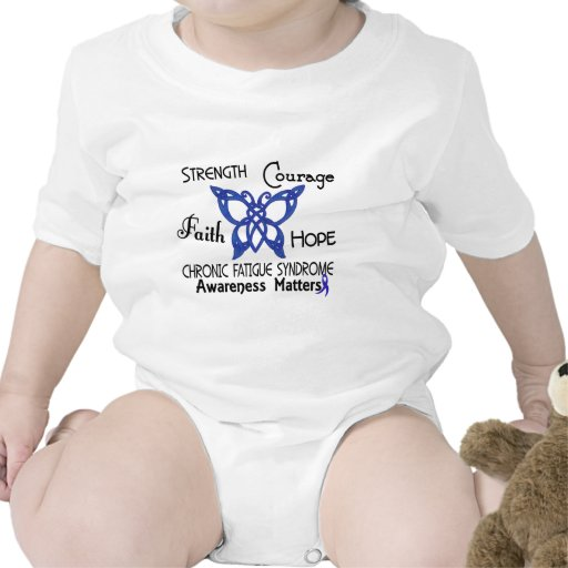 CFS Chronic Fatigue Syndrome Celtic Butterfly Rompers