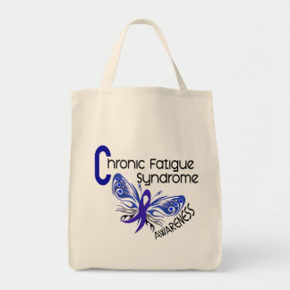 CFS Chronic Fatigue Syndrome Tattoo Butterfly Bag
