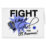 CFS Fight Like A Girl 11.3 Greeting Cards