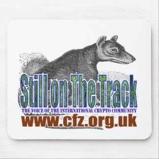 CFZ on the track thylacine Mouse Pad