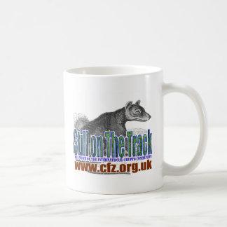 CFZ on the track thylacine Classic White Coffee Mug