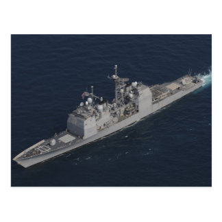 CG 67 USS Shiloh Postcard