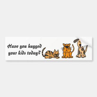 CG- Have you hugged your kids today sticker
