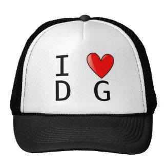 CG Heart DG Hat