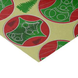 """CG:  Merry Christmas Tissue Paper (with tree) 10"""" X 15"""" Tissue Paper"""