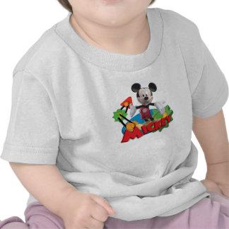 CG Mickey Camiseta