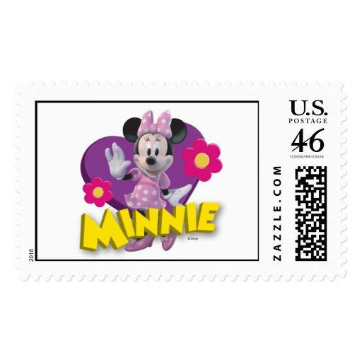 CG Minnie Waving Stamps