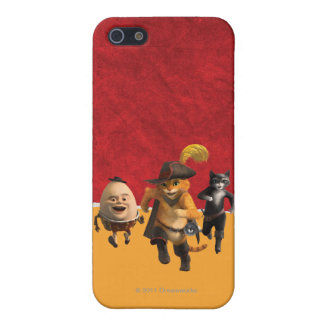 CG Puss Humpty Kitty Cover For iPhone SE/5/5s
