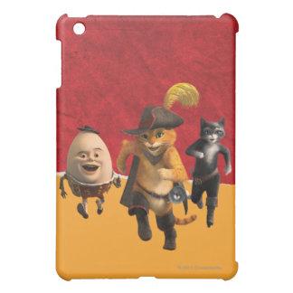 CG Puss Humpty Kitty iPad Mini Covers