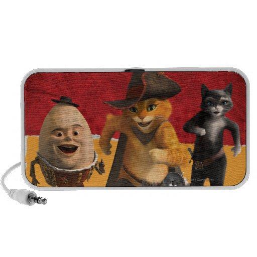 CG Puss Humpty Kitty iPhone Speaker