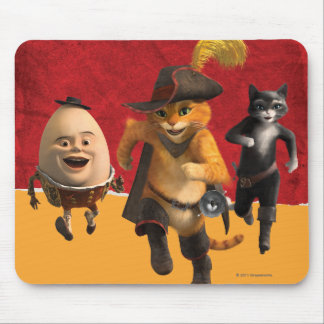 CG Puss Humpty Kitty Mouse Pad