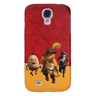 CG Puss Humpty Kitty Samsung Galaxy S4 Cover