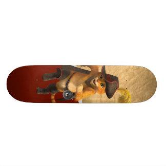 CG Puss Runs Skateboard Deck