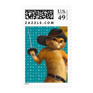 CG Puss Waves Sword Stamp