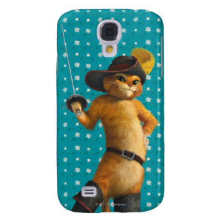 CG Puss Waves Sword Samsung Galaxy S4 Cover