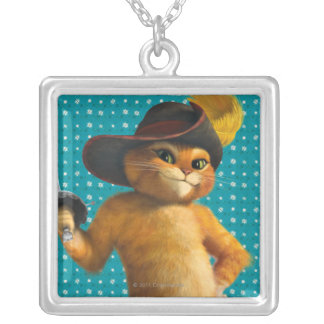 CG Puss Waves Sword Silver Plated Necklace