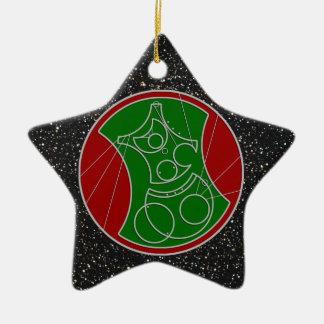 CG: Starry Merry Christmas Ornament