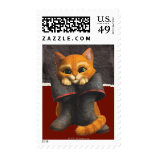 CG Young Puss Postage Stamp
