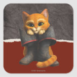 CG Young Puss Square Sticker