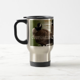 CGC Canada Geese Close-Up Travel Mug