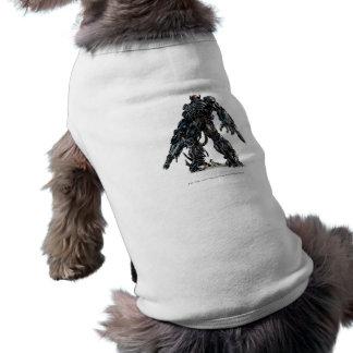 Cgi 3 de la onda de choque camisetas mascota