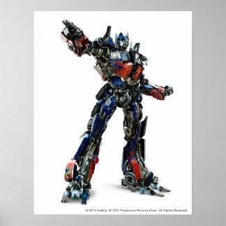 Cgi primero 1 de Optimus Póster