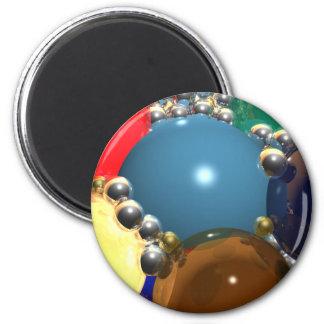 CGI Spheres 2 Inch Round Magnet