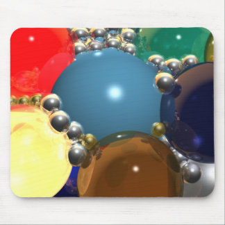 CGI Spheres Mouse Pad