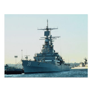 "CGN 39"" USS Tejas"", crucero de propulsión nuclear, Tarjeta Postal"