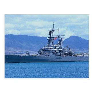 "CGN 41"" USS Arkansas"", crucero de propulsión nucle Postal"