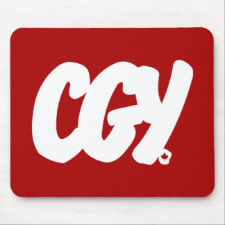 CGY Letters Mouse Pad
