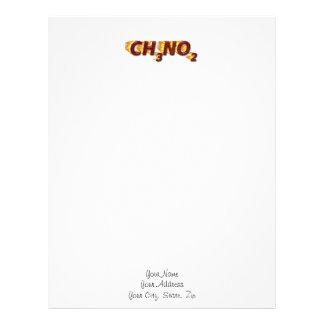 CH3NO2 - Nitro Membrete