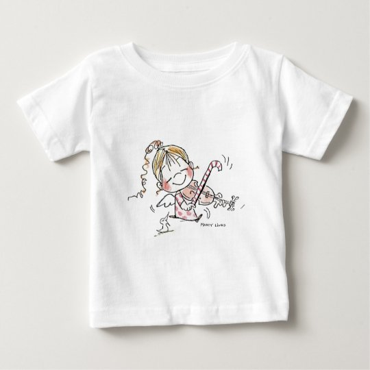 CH-008 Christmas Fiddler Baby T-Shirt