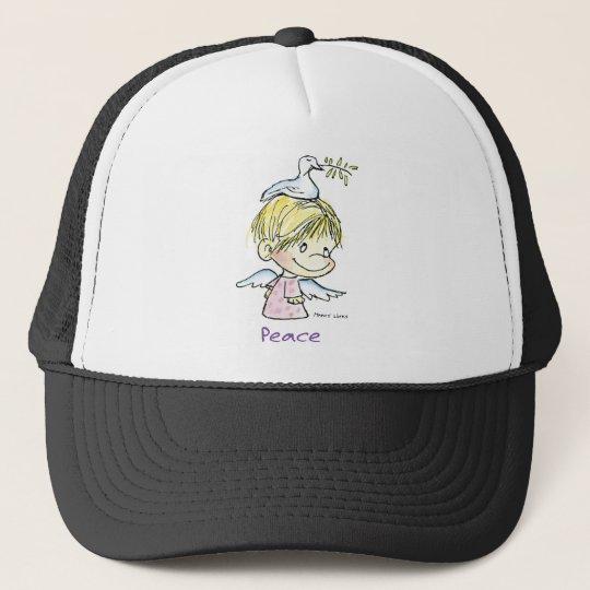CH-009 Christmas Peace Trucker Hat