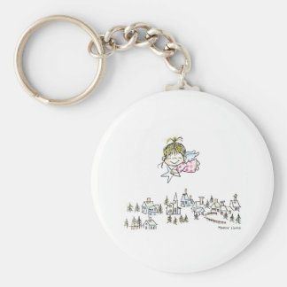 CH-010 Christmas Angel Key Chain