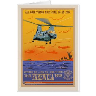 CH-46 Farewell Card