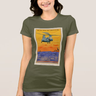 CH-46 Farewell Girls' Dark Shirt