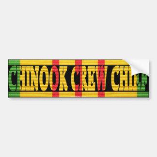 CH-47 Chinook Crew Chief VSM Bumper Sticker
