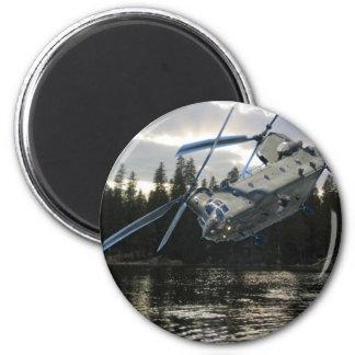 CH-47 CHINOOK IMÁN REDONDO 5 CM