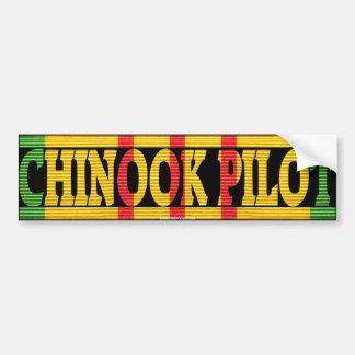 CH-47 Chinook Pilot Bumper Sticker