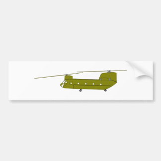 CH-47D cargo helicopter Bumper Stickers