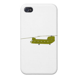 CH-47D cargo helicopter iPhone 4/4S Cases