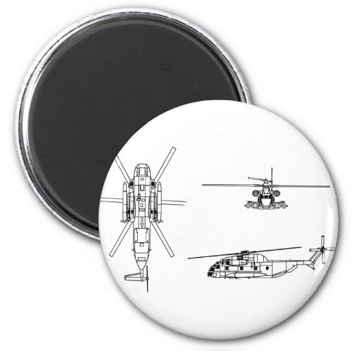 CH-53 Sea Stallion Magnets