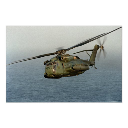 CH-53 Sea Stallion Poster