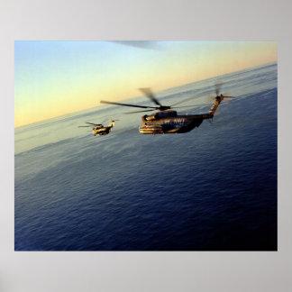 CH-53 Sea Stallions Poster