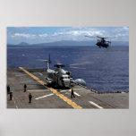 CH-53D un semental del mar Poster
